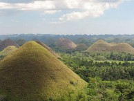 The Chocolate Hills in Bohol Province, Philippines. Photo by Ramir Borja.