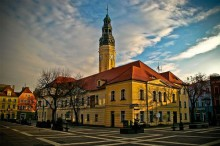 A city hall in Poland by Tb808.