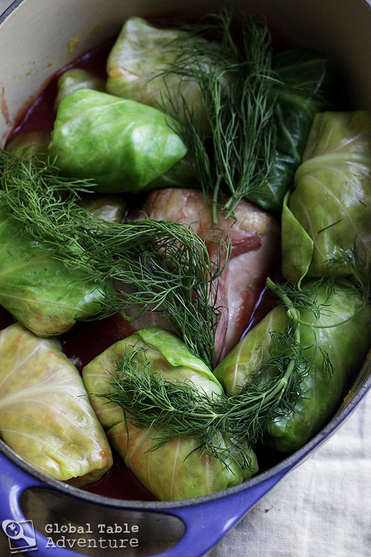 Romanian Stuffed Cabbage Leaves | Sarmale | Global Table Adventure