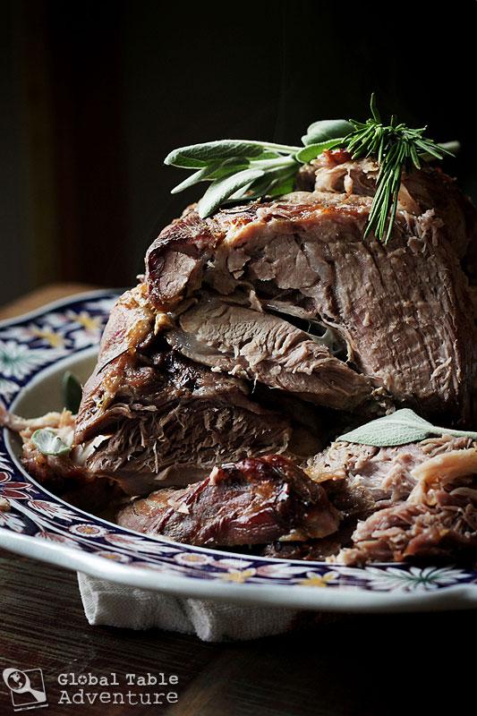 Pork braised in Milk & Fresh Herbs | Maiale al Latte