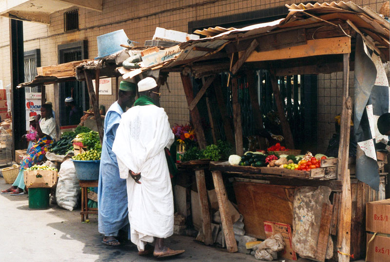 Market in Senegal. Photo by Boullu.