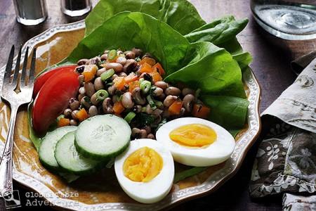 Senegal's Black-eyed Pea Salad | Saladu Ñebbe | Global Table ...