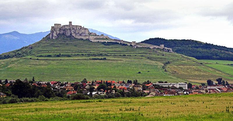 Spis Castle, Slovenia. Photo by Petr Kratochvil.