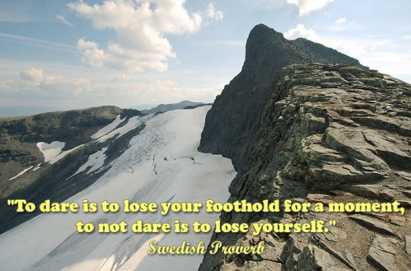 Swedish Proverb, Plus dozens of other inspiring quotes from around the world.