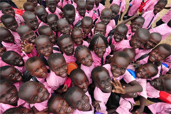South Sudanese children. Photo by Photo Credit: Karl Grobl, Education Development Center Inc.