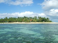 Royal Sunset Island Resort at 'Atata Island, 30 min boat ride from Tongatapu. Photo by Haanofonua.