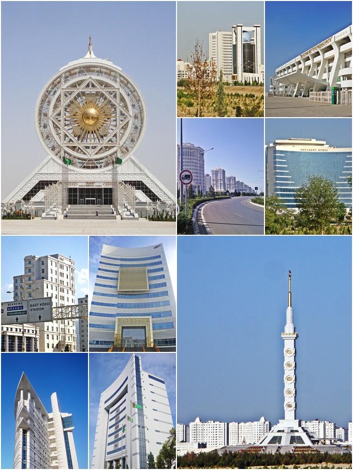 Ashgabat, Turkmenistan. Photos by AltynAsyr.