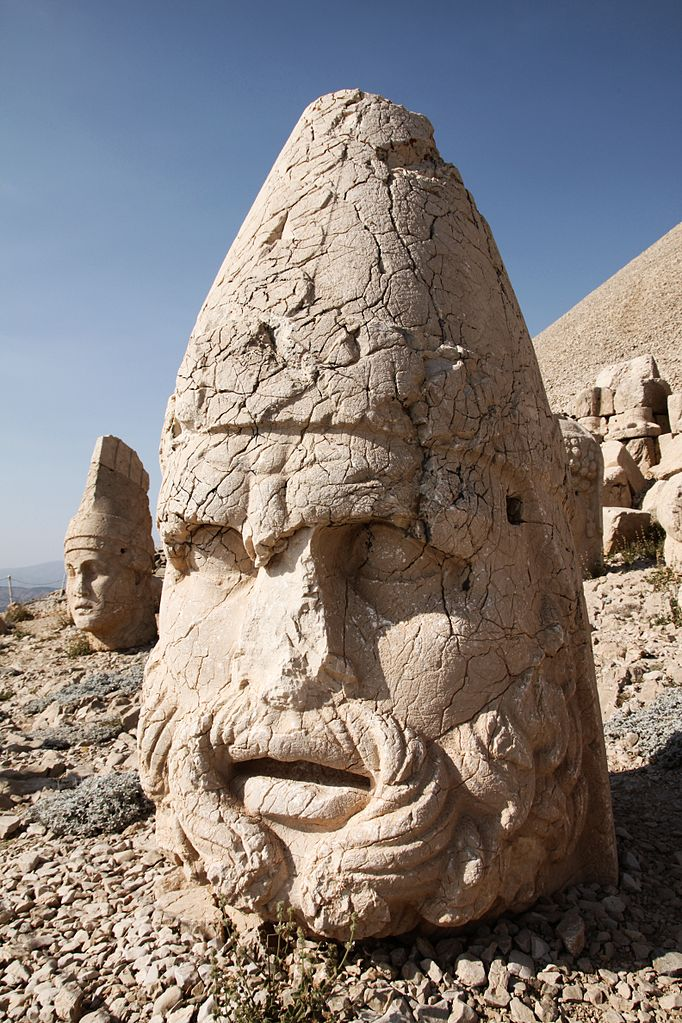 Mount Nemrut - West Terrace: Heracles/Artagnes/Ares. Photo by Klearchos Kapoutsis.