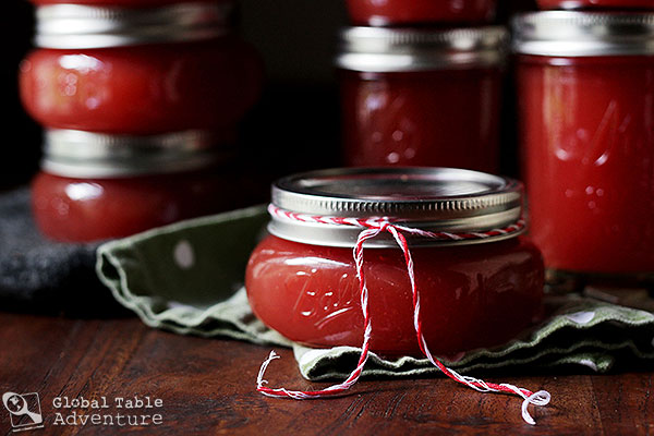 A Recipe for Watermelon Jam inspired by Turkmenistan