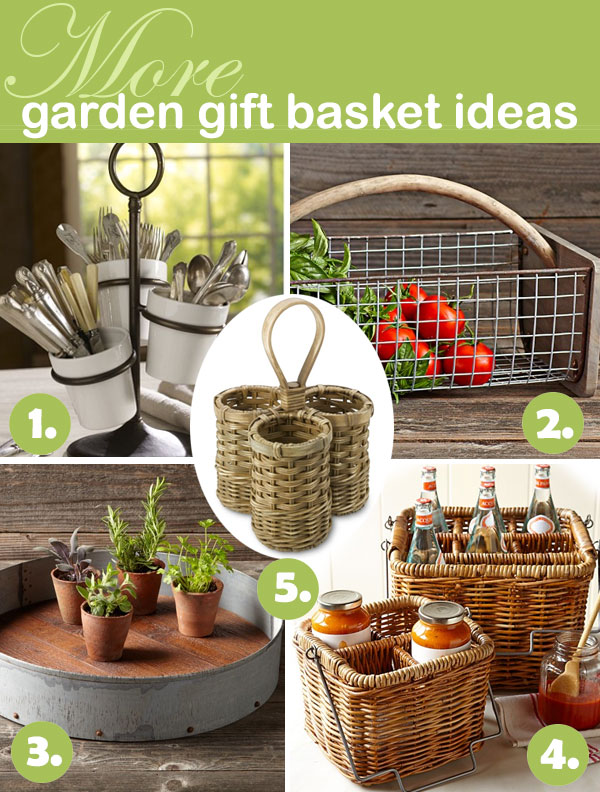 More garden gift basket ideas (holders)