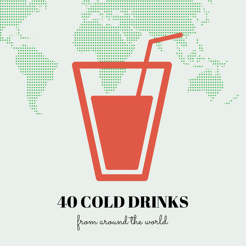 40 DRINKS FROM AROUND THE WORLD