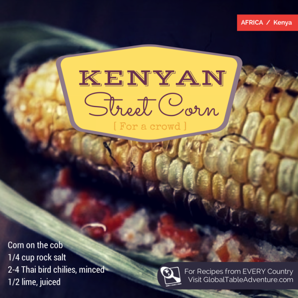 How to make Kenyan Street Corn