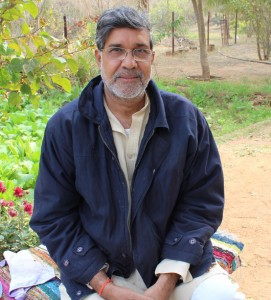 Kailash Satyarthi. Photo by Leandro Uchoas.