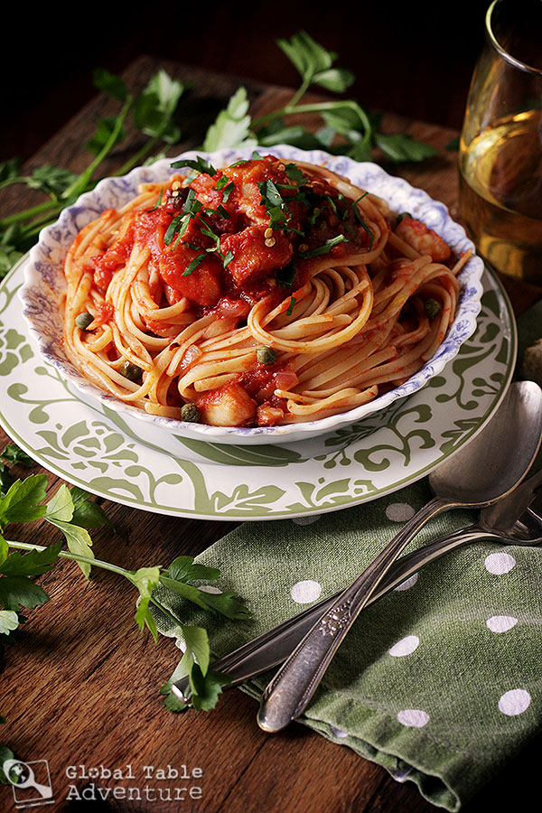 Feast of the 7 Fishes | Linguine with Baccalà Sauce