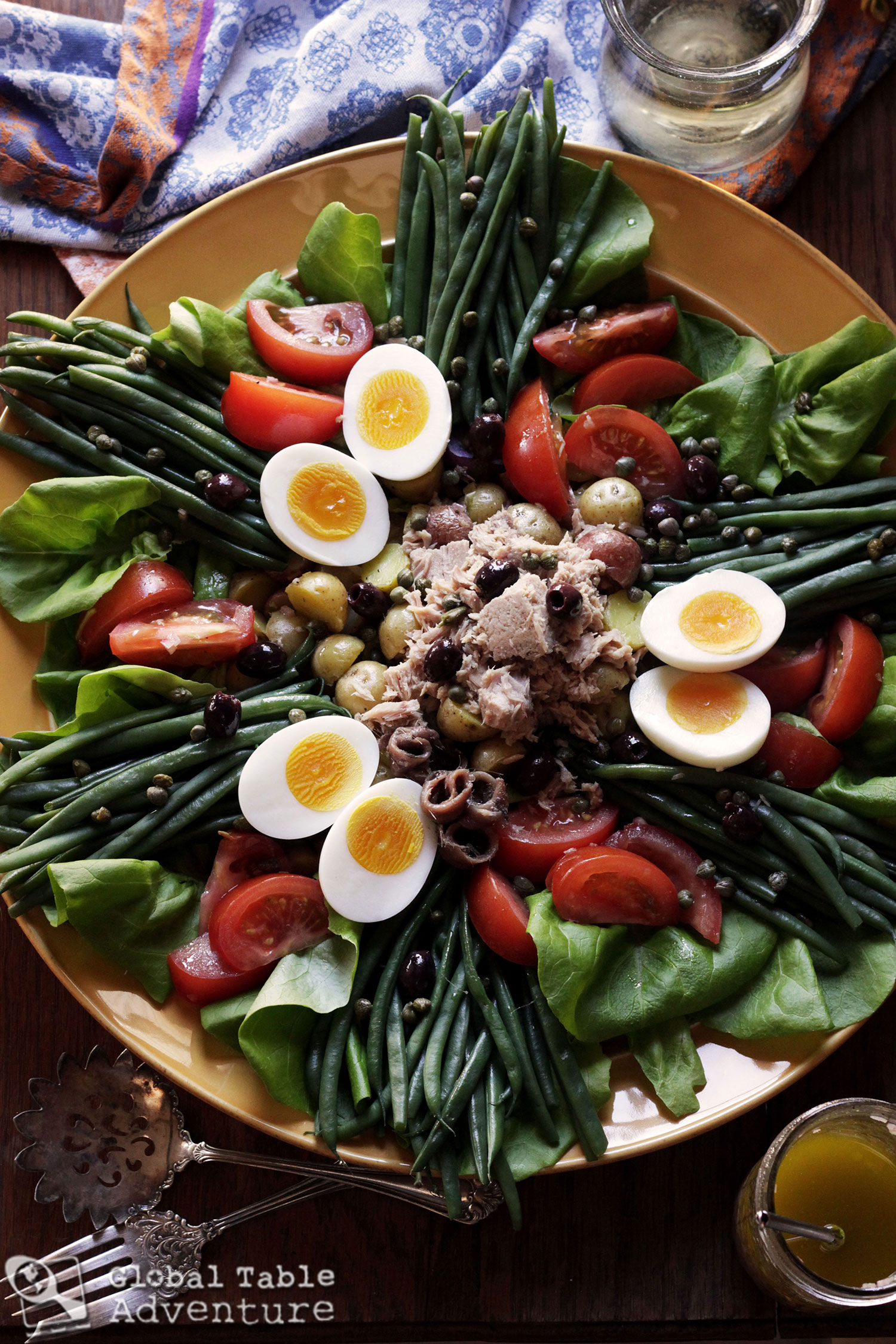 How to make Salad Niçoise.