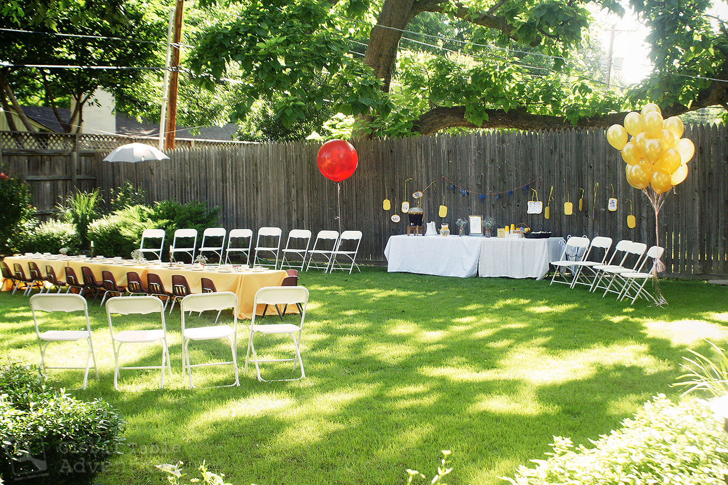 Mary Poppins Birthday Party: Decor