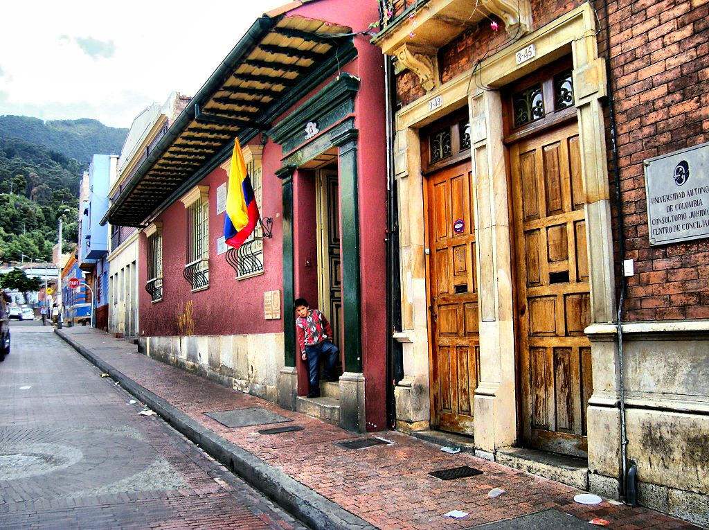 """Casa de Poesía Silva 1"" by Martinduquea - Own work. Licensed under CC BY-SA 3.0 via Wikimedia Commons - https://commons.wikimedia.org/wiki/File:Casa_de_Poes%C3%ADa_Silva_1.jpg#/media/File:Casa_de_Poes%C3%ADa_Silva_1.jpg"
