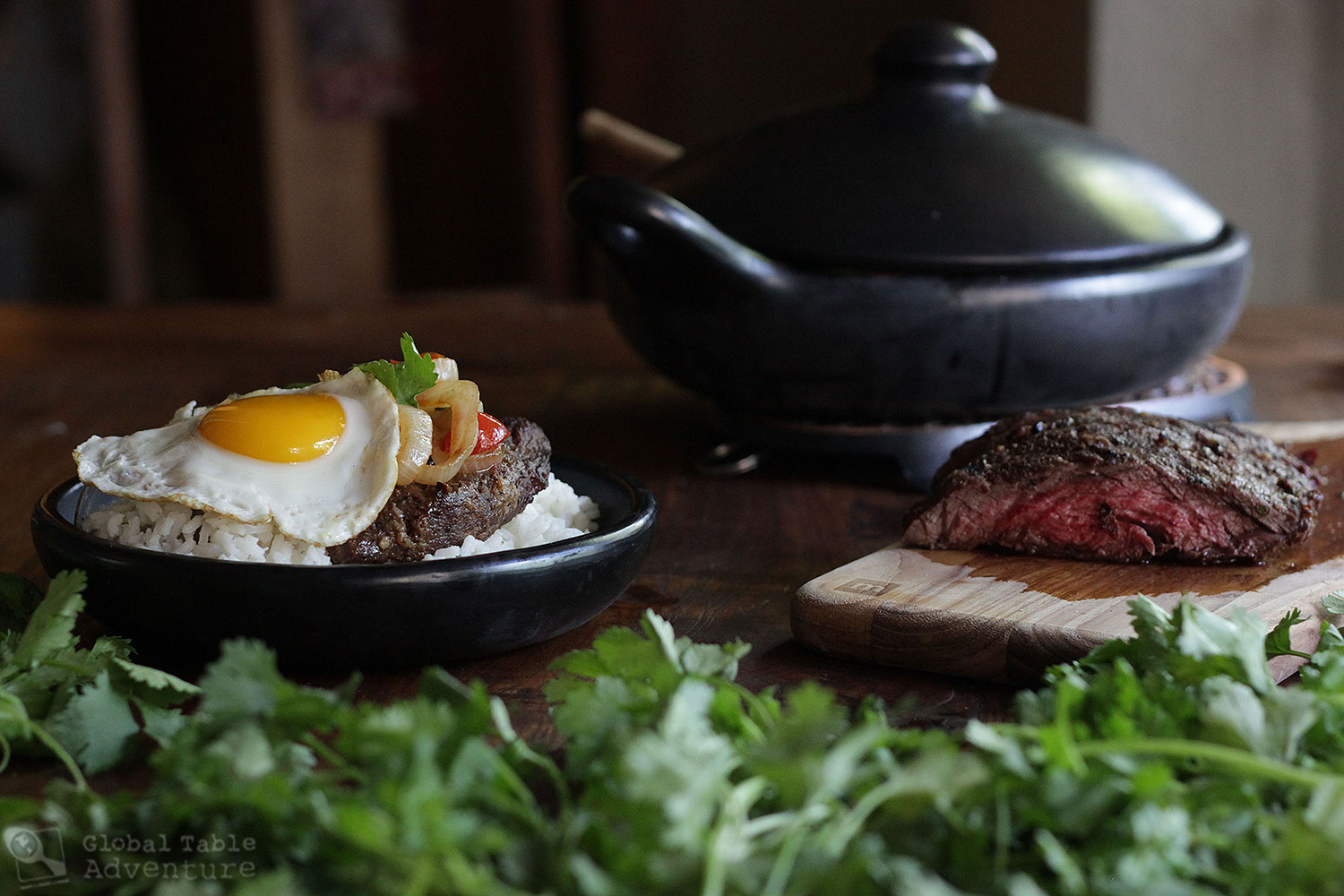 Recipe for Colombian Steak & Eggs | Bistec a Caballo