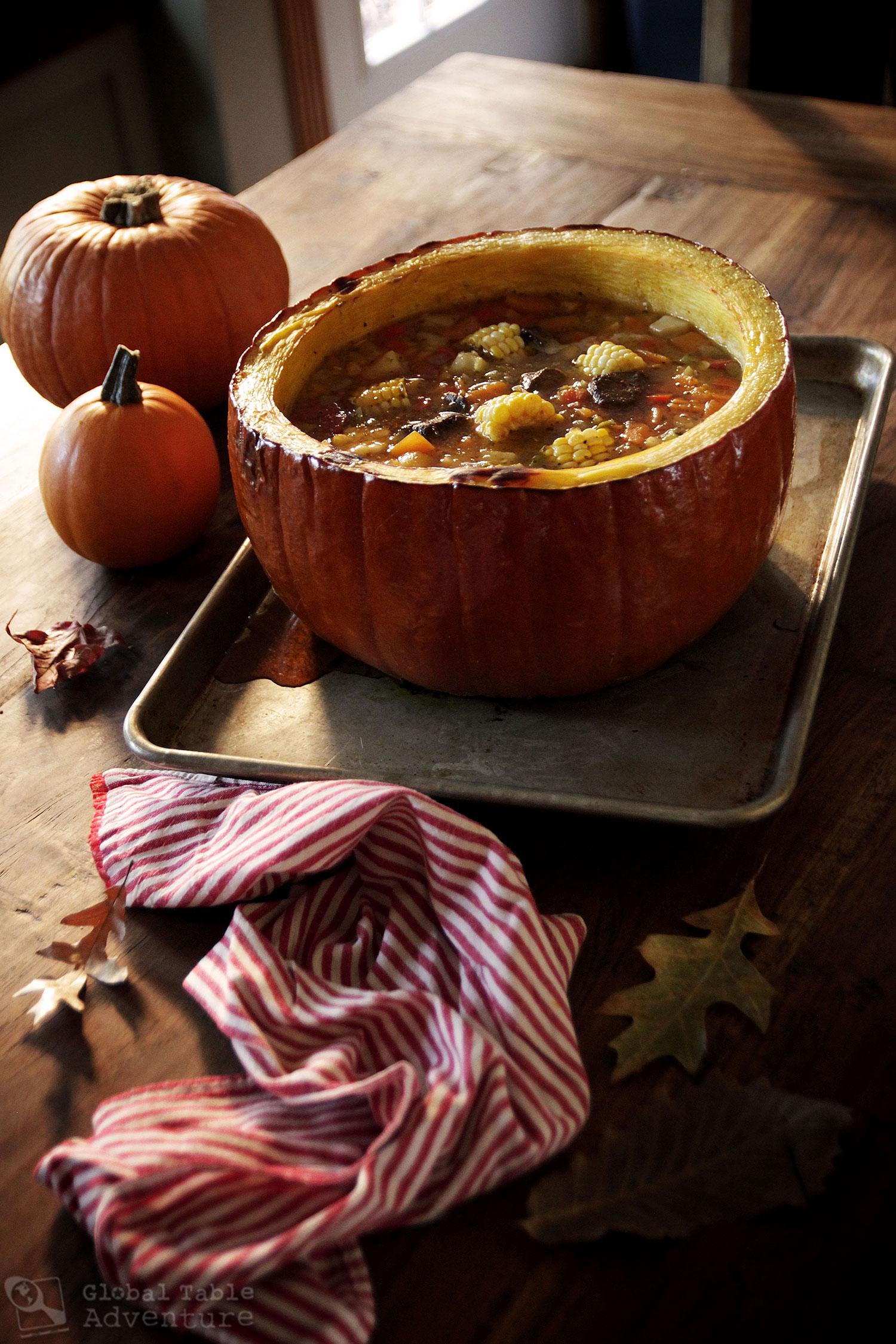 Argentina's Beef Stew in a Pumpkin | Carbonada en Zapallo