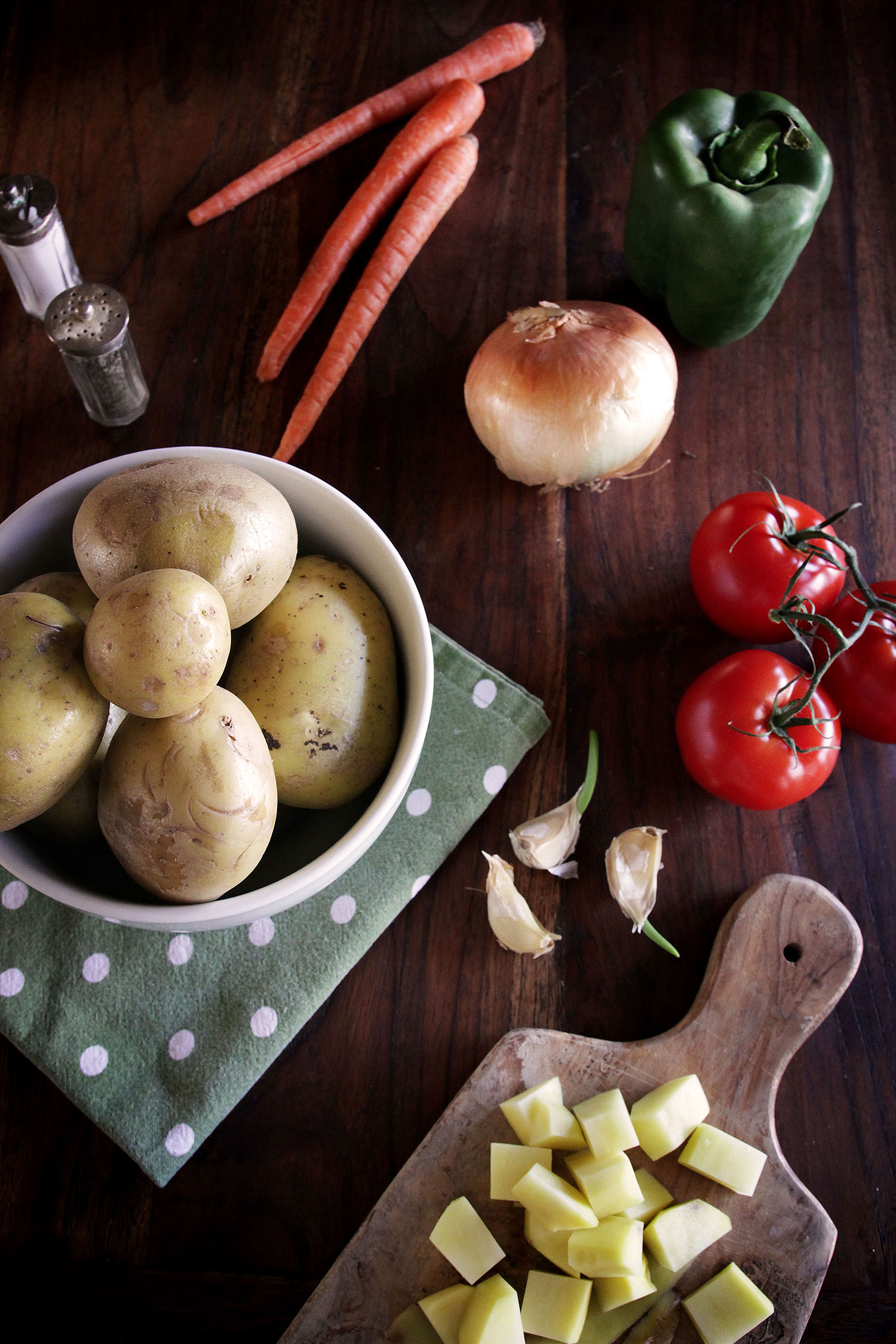Recipe for Tanzanian Potato Soup