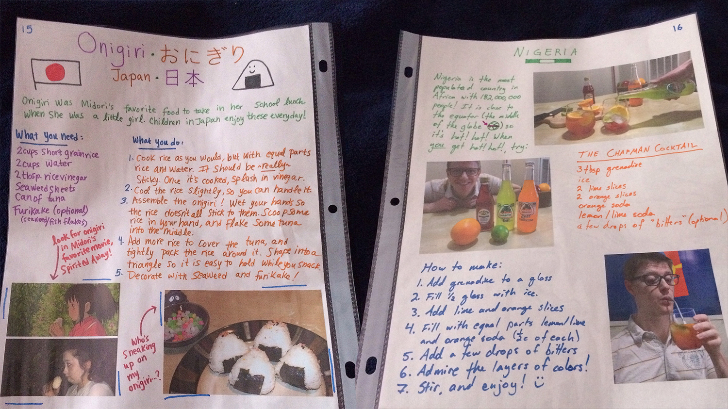 how-to-make-a-food-scrapbook
