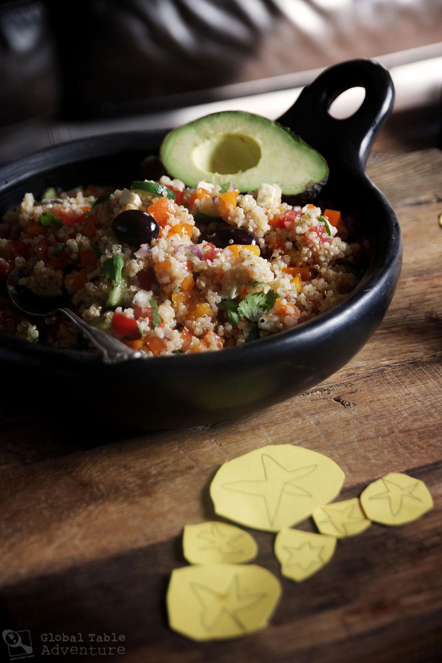 Recipe for South American Quinoa Salad
