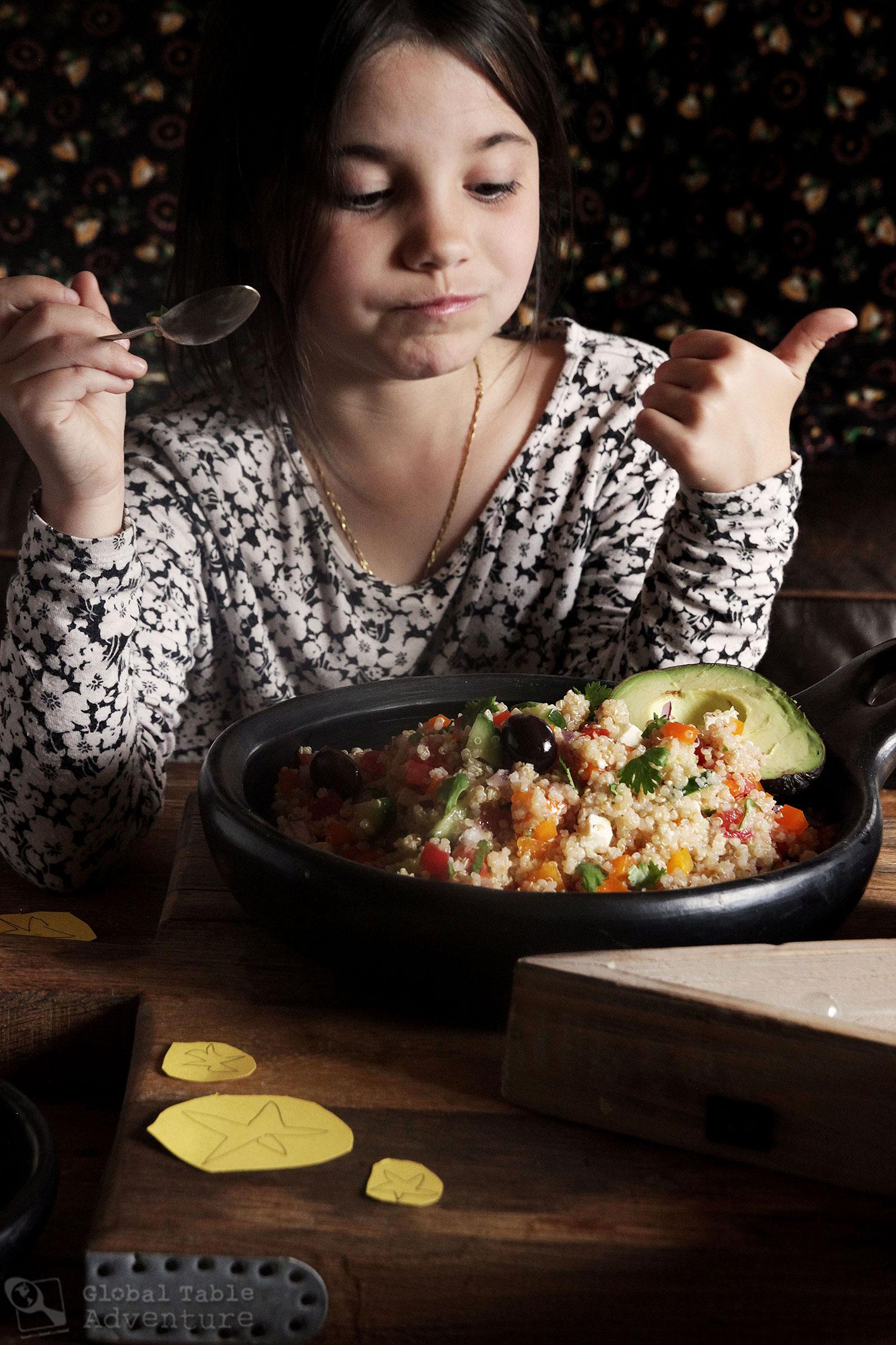 Recipe for Peruvian Quinoa Salad