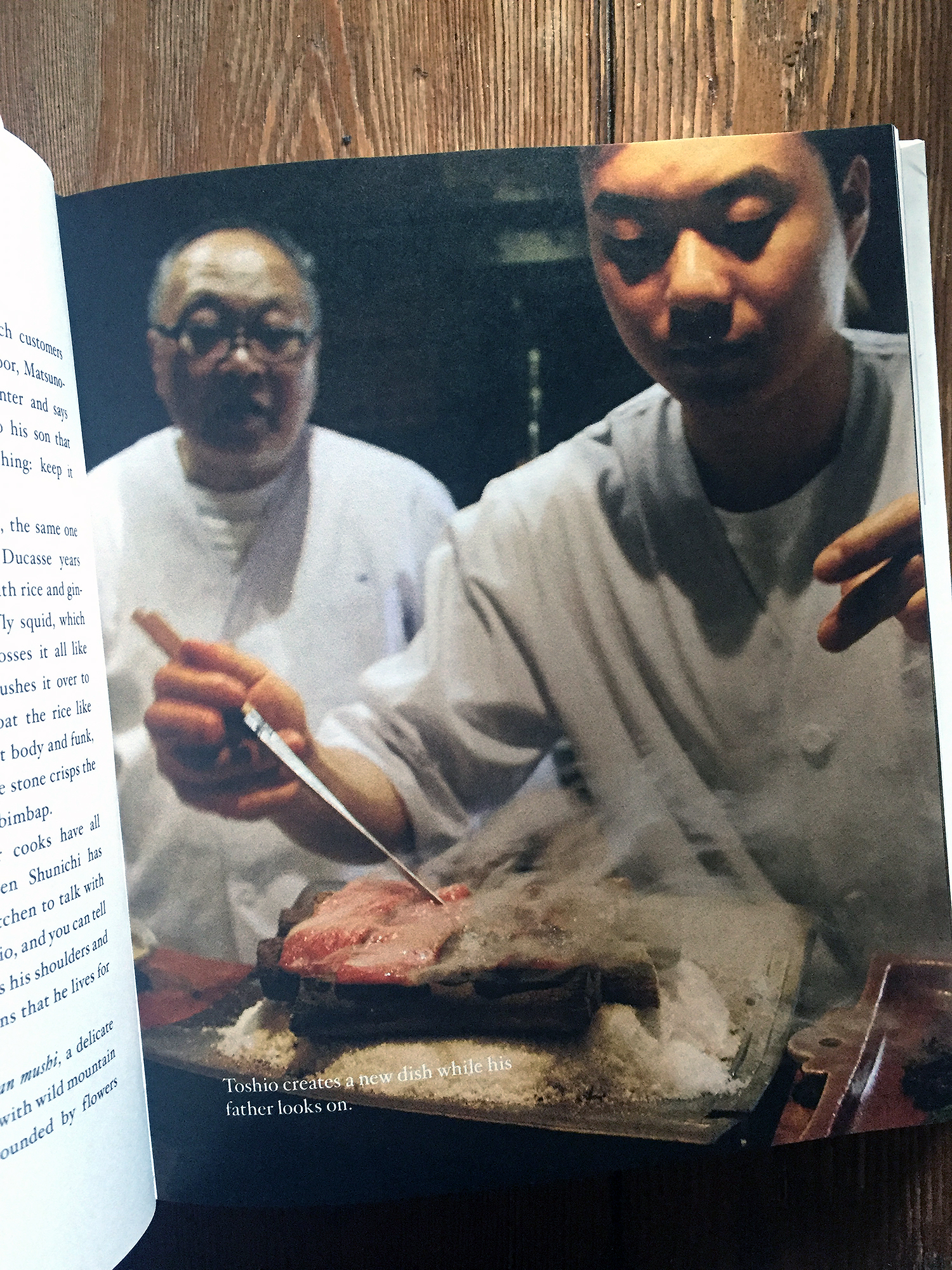 Accidental lessons in parenting from Japanese Culinary Masters