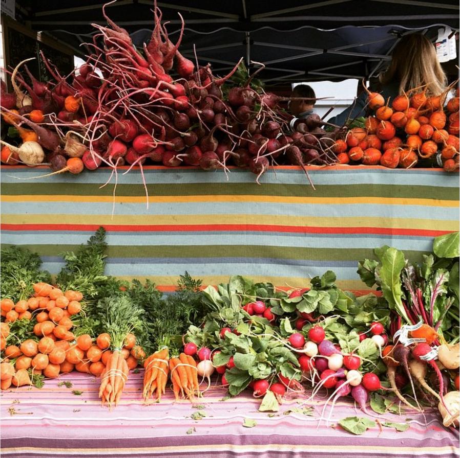 San Francisco Farmer's Market by Sasha Martin